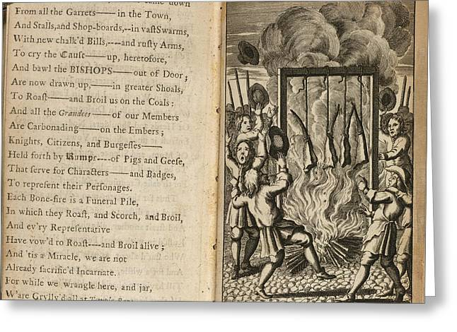 A Burning Greeting Card by British Library