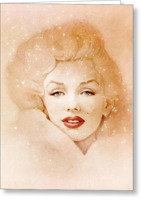 Catherine Digital Greeting Cards - A Candle in the Wind Greeting Card by Catherine Noel