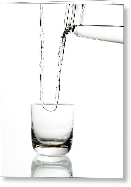 Water Jug Greeting Cards - A Case of the Mondays Greeting Card by Alexey Stiop