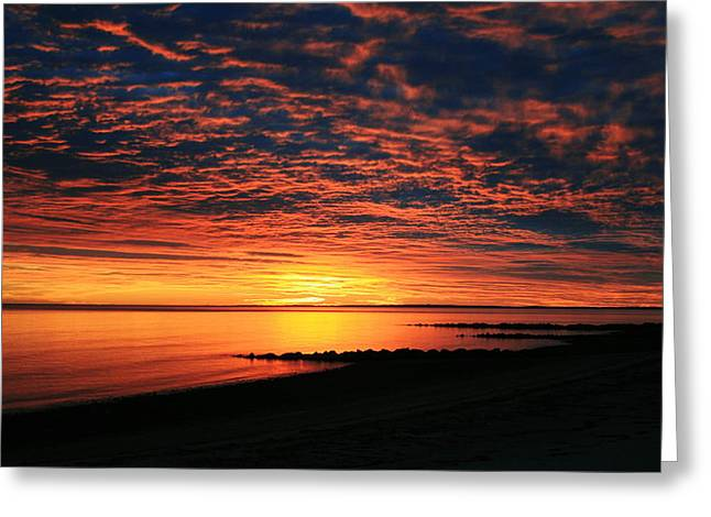Cape Cod Mass Greeting Cards - A Change is Gonna Come Greeting Card by Matthew Grice