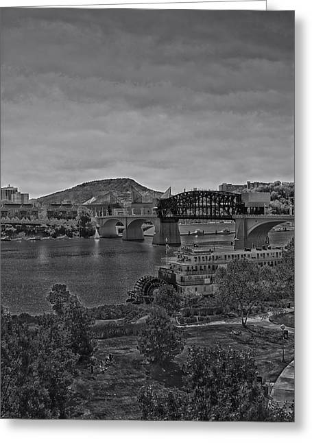 Chattanooga Tennessee Greeting Cards - A Chattanooga Weekend Greeting Card by Mountain Dreams