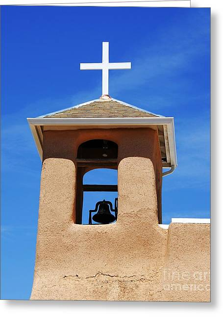 A Church Bell In The Sky 2 Greeting Card by Mel Steinhauer