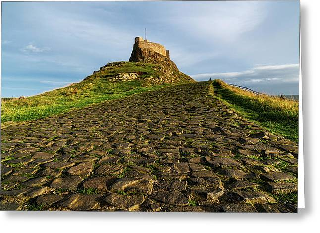 A Civil Parish On Holy Island Greeting Card by John Short
