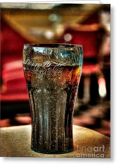 Carbonated Greeting Cards - A Classic Greeting Card by Lois Bryan