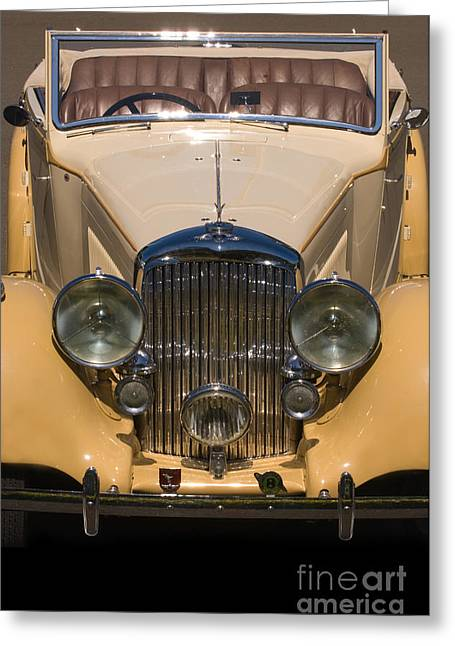 Valuable Photographs Greeting Cards - A Classic Rolls Royce Greeting Card by Ron Sanford