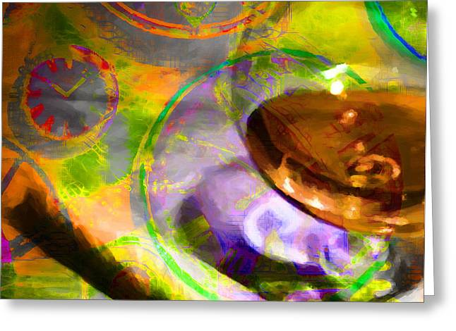 A Cognac Night 20130815p28 Greeting Card by Wingsdomain Art and Photography