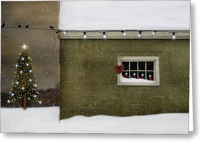 A Common Thread Christmas Greeting Card by Robin-lee Vieira