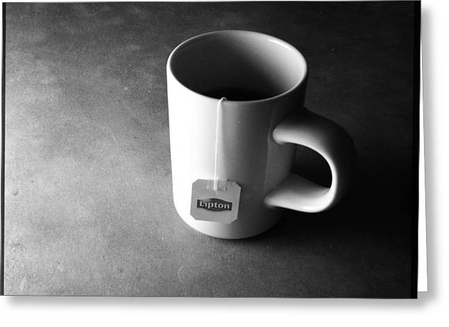 A Cup Of Tea At Night I Greeting Card by Marco Oliveira
