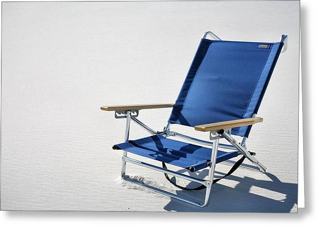 Day At The Beach Greeting Cards - A Day at the Beach in Destin Greeting Card by JC Findley
