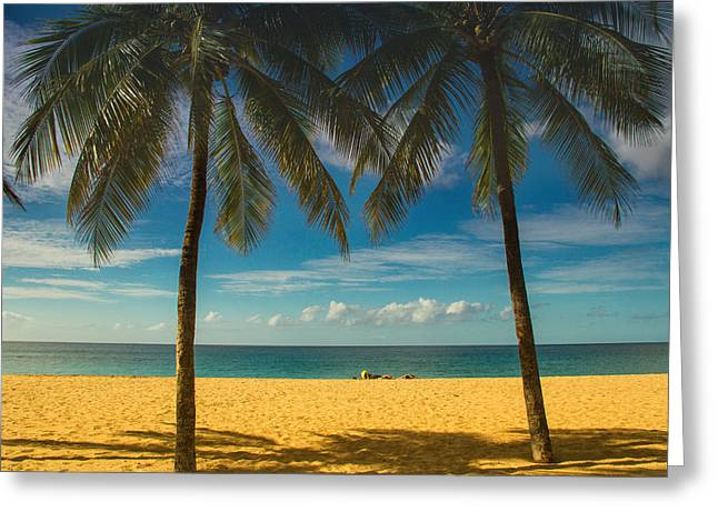 At Work Greeting Cards - A day at the beach Greeting Card by Kunal Mehra