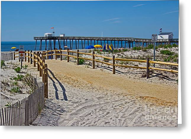 A Day At The Beach Greeting Card by Tom Gari Gallery-Three-Photography