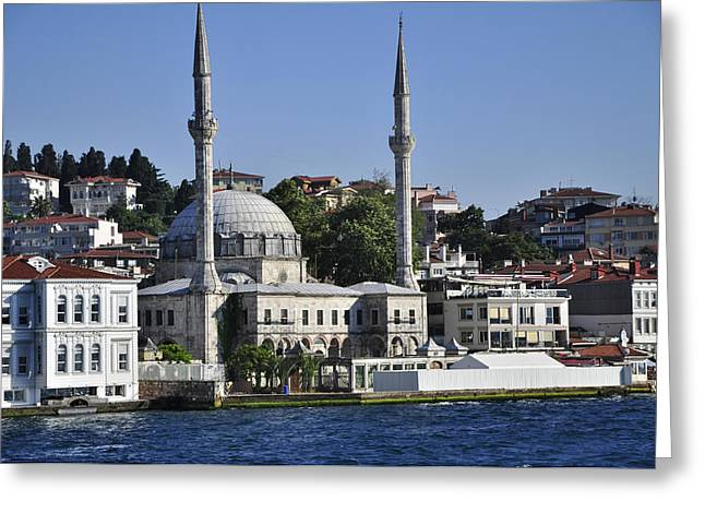 Istanbul Greeting Cards - A Day in Istanbul Greeting Card by Mountain Dreams