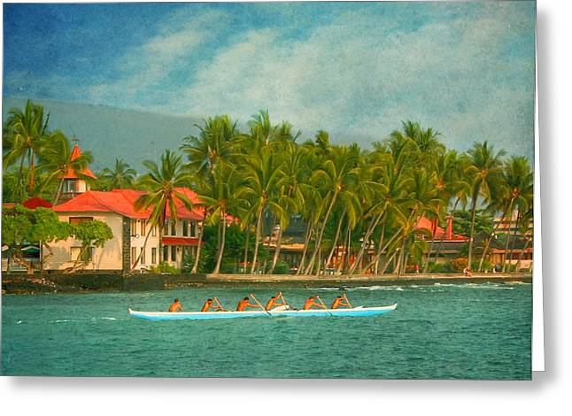 Hdr Landscape Greeting Cards - A Day in Paradise Greeting Card by Kim Hojnacki