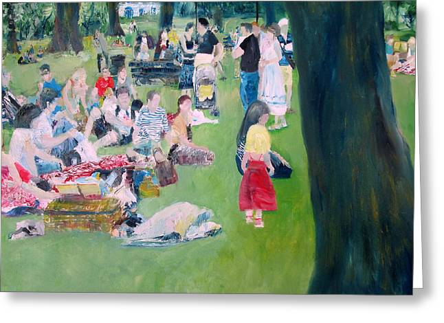 Sunday Picnic Greeting Cards - A Day In The Life Greeting Card by Fabrizio Cassetta