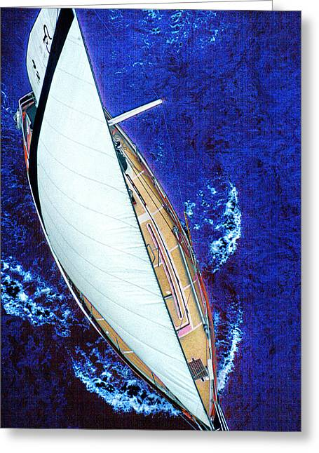 Mike Flynn Greeting Cards - A Day on the Bay Greeting Card by Mike Flynn