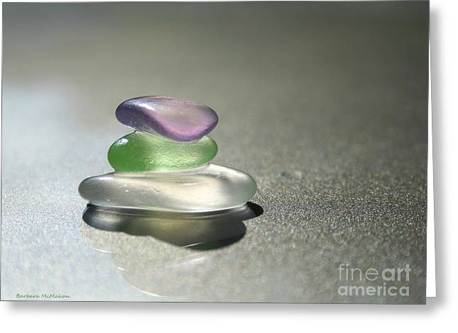 A Delicate Balance Greeting Card by Barbara McMahon
