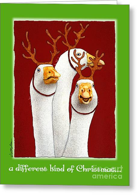 Bullis Greeting Cards - a different kind of Christmas... Greeting Card by Will Bullas