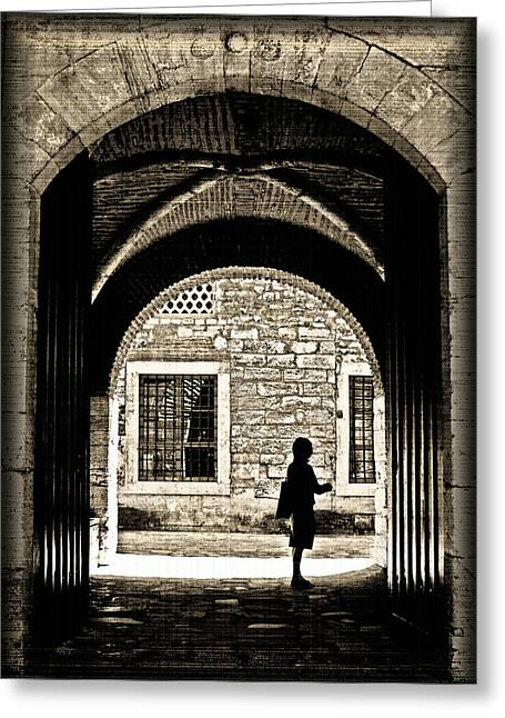 Stonewall Greeting Cards - A Door To Hope Greeting Card by Leyla Ismet