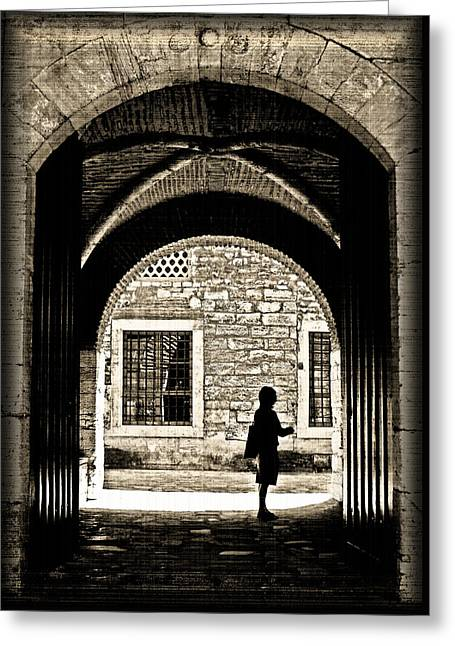 A Door To Hope Greeting Card by Leyla Ismet
