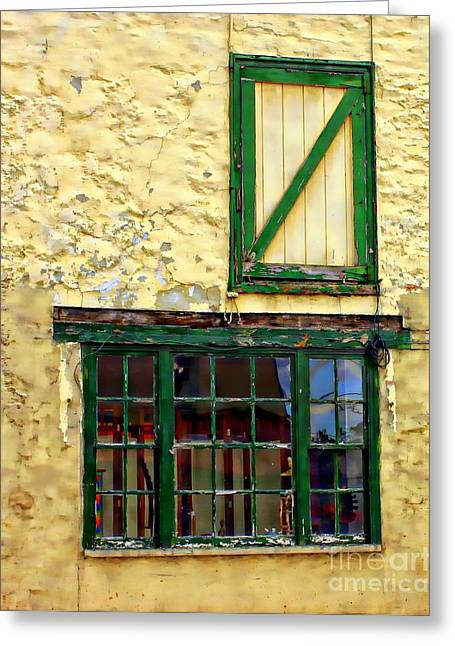 Menu Greeting Cards - A Door With Possibilities Greeting Card by Marcia Lee Jones