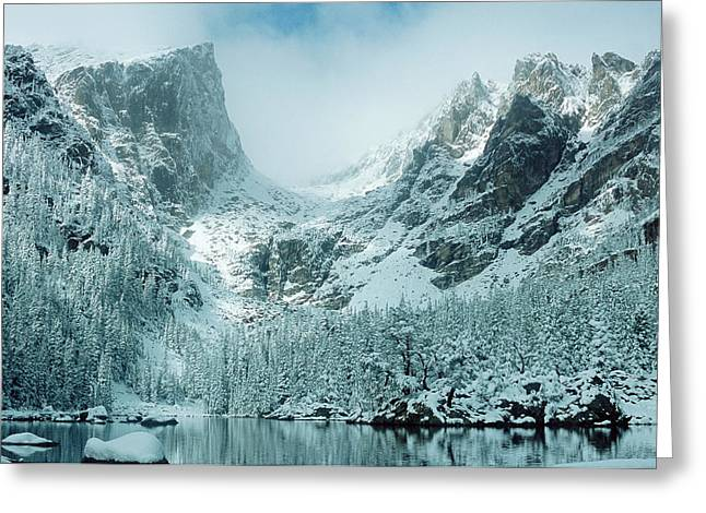 A Dream At Dream Lake Greeting Card by Eric Glaser