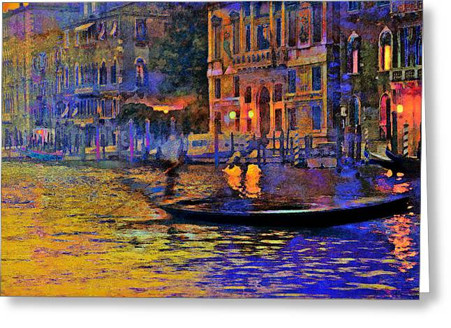 Steven Boone Greeting Cards - A Dream Of Venice Greeting Card by Steven Boone