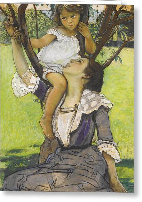 Williams Pastels Greeting Cards - A Fairy Tale Greeting Card by William Sergeant Kendall