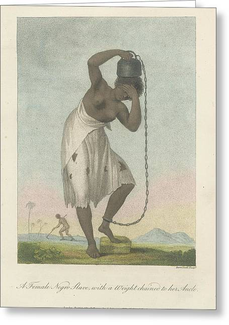A Female Negro Slave Greeting Card by British Library