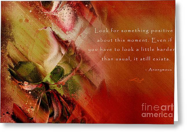 Happiness Quotes Greeting Cards - A Fleur de Peau - Happiness Quote 01 Greeting Card by Aimelle