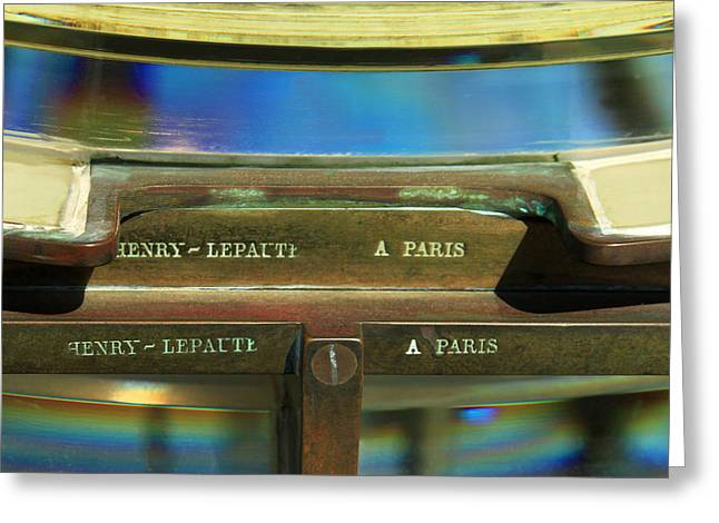 Fresnel Greeting Cards - A fresnel From Paris Greeting Card by James Eddy