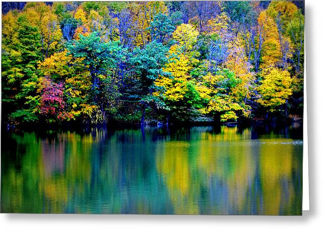 Jon Van Gilder Greeting Cards - A Glorious Autumn Greeting Card by Jon Van Gilder