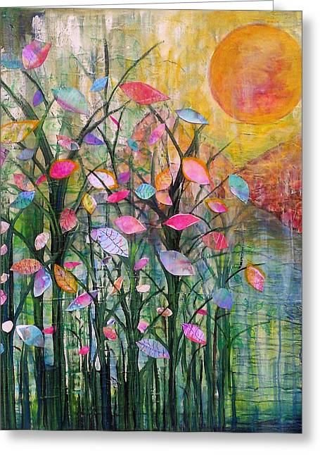 A Good Morning Greeting Card by Robin Mead
