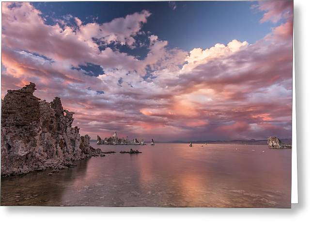 Fine Dining Canvases Greeting Cards - A Grand Scale Greeting Card by Jon Glaser