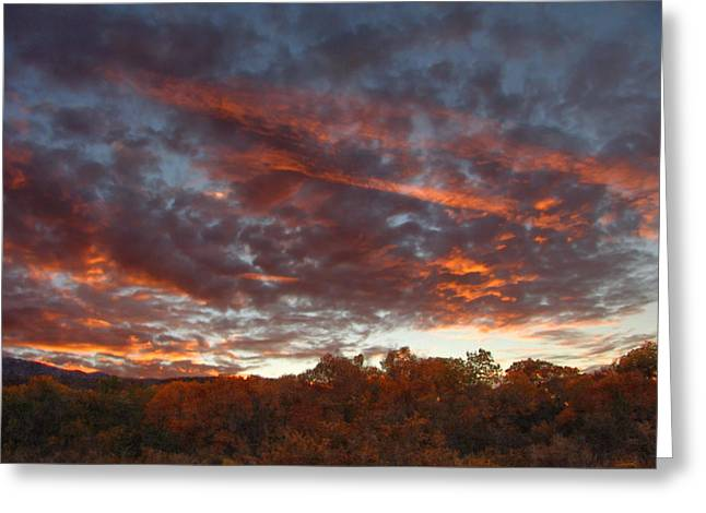 A Grand Sunset 2 Greeting Card by Glenn McCarthy Art and Photography