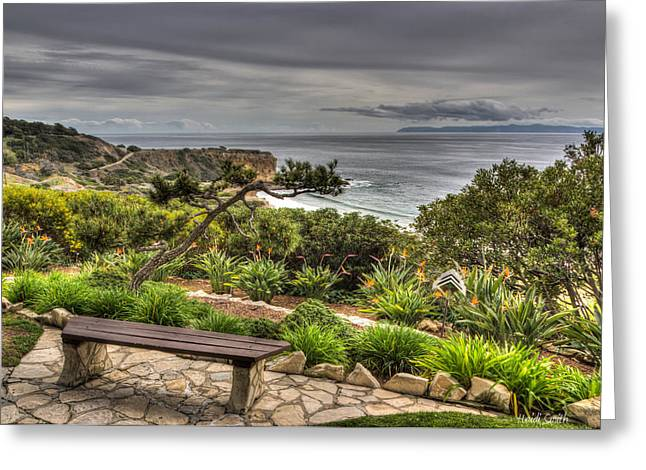 Palos Verdes Cove Greeting Cards - A Grand Vista Greeting Card by Heidi Smith