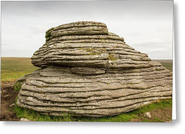 A Granite Tor Greeting Card by Ashley Cooper