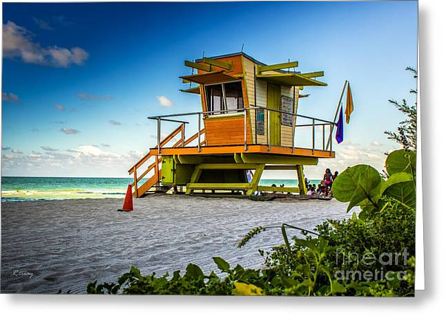 Beach Photography Greeting Cards - A Great Day at the Beach  Greeting Card by Rene Triay Photography