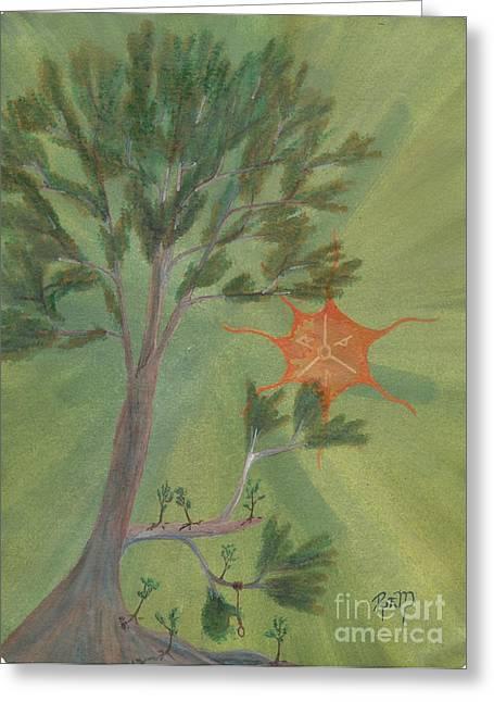 Robert Meszaros Greeting Cards - A Great Tree Grows Greeting Card by Robert Meszaros