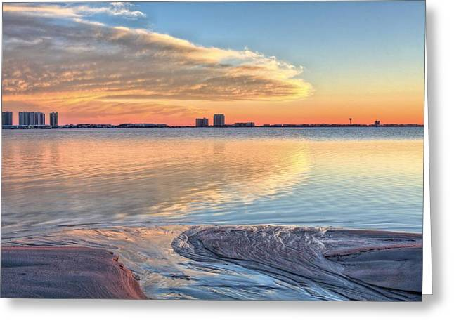 Florida Panhandle Greeting Cards - A Happy Ending in Navarre Greeting Card by JC Findley