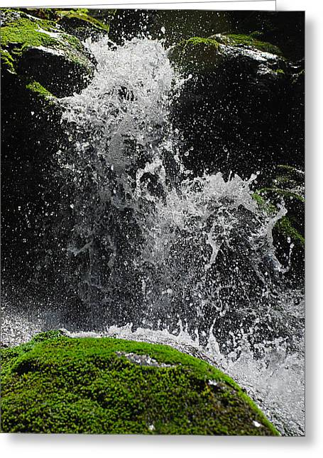 Crushing Stones Greeting Cards - A happy flow Greeting Card by Stefan Dinov