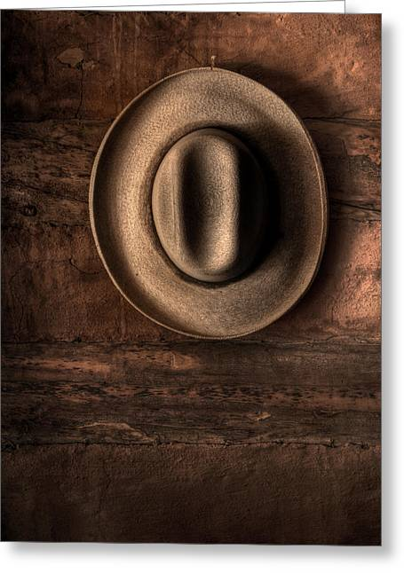 A Hat For Maynard Greeting Card by William Fields