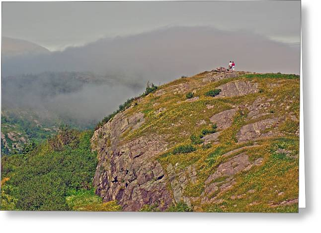 A High Point On Signal Hill National Historic Site In Saint John's-nl Greeting Card by Ruth Hager