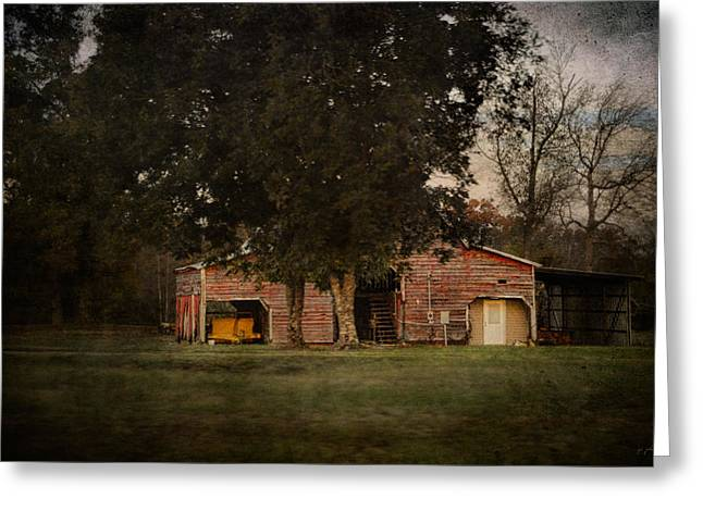 Tennessee Barn Greeting Cards - A House Or A Barn Greeting Card by Jai Johnson