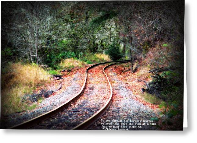 Melanie Lankford Photography Greeting Cards - A Journey of Dreams Inspirational  Greeting Card by Melanie Lankford Photography