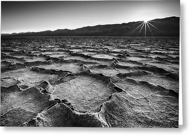 Salt Flat Images Greeting Cards - A Last Moment Greeting Card by Jon Glaser