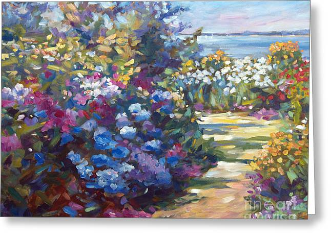 Recommended Paintings Greeting Cards - A Lazy Summer Day Greeting Card by David Lloyd Glover