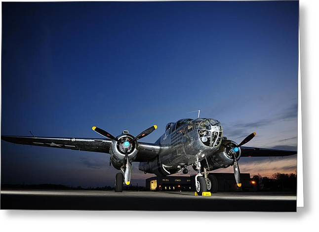 U.s. Air Force Greeting Cards - A Legend at Rest Greeting Card by Mountain Dreams