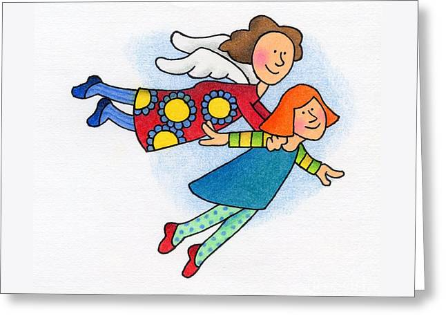 A Lift Up Greeting Card by Sarah Batalka