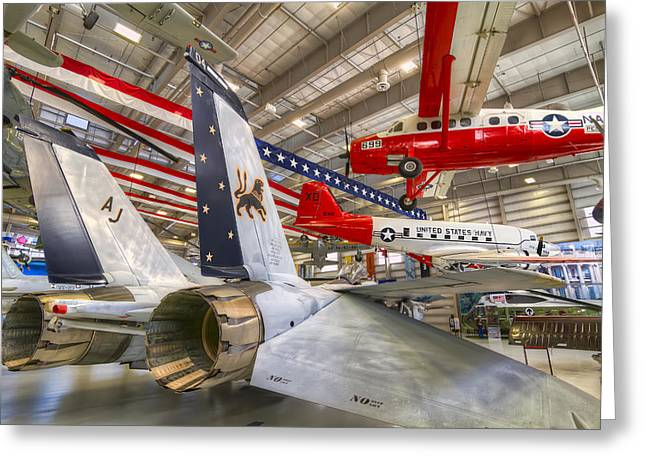 Aviation Greeting Cards - A Lions Tail Greeting Card by Tim Stanley