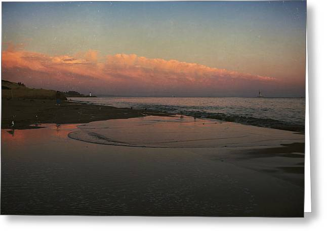 California Beach Greeting Cards - A Little Bit of Peace Greeting Card by Laurie Search